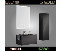 GOLD Lucca 80cm Banyo Dolabı