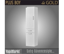 GOLD Plus Standart 38 Boy Dolabı