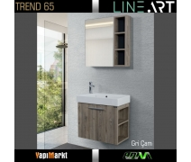 Lineart Trend 55 Cm. Banyo Dolabı