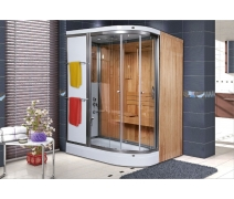Shower Alonza Compact Sauna 160x190 cm ULTRA LUX SİSTEM